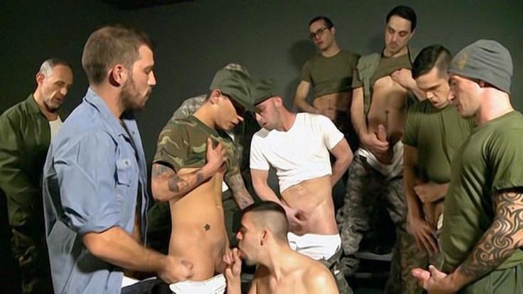 DaddySexFiles – Military Cum Sucking Party – Part 2 – Leo Donato, Josh Stone