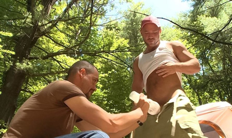 DaddySexFiles – Cumming Together In The Woods – Charlie Shaye, Tyler Lebeouf, Luke Piersol