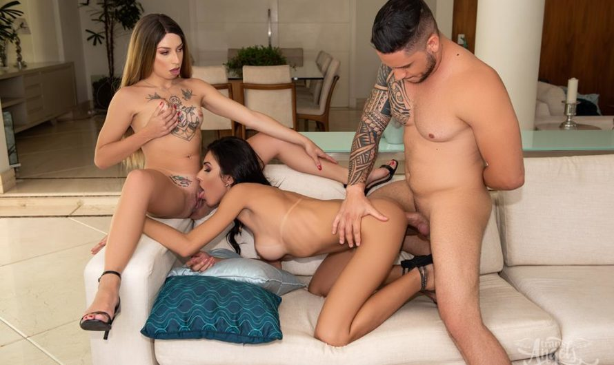 TransAngels – Lucky Lurker – Alice Marques, Bianca Demarchi, Victor Hugo