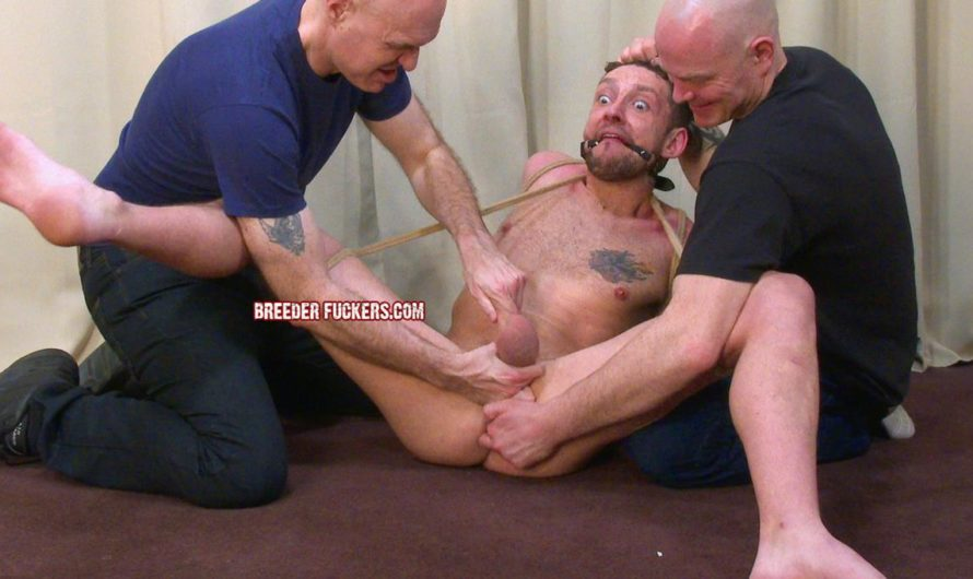 BreederFuckers – Scally Lad Martin Stripped, Bound & Groped