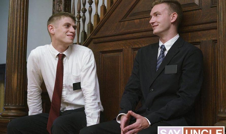 MissionaryBoys.com – Sneaky Companions – Elder Dean, Elder Herring