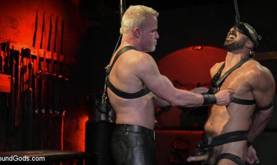 BoundGods – Power Fuck: Hot Leather Men Inflict Muscle Domination & Intense Pain