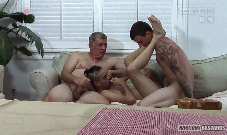 RaunchyBastards – Toys Are Meant To Be Played With – Clay, Mark Santana, Silas