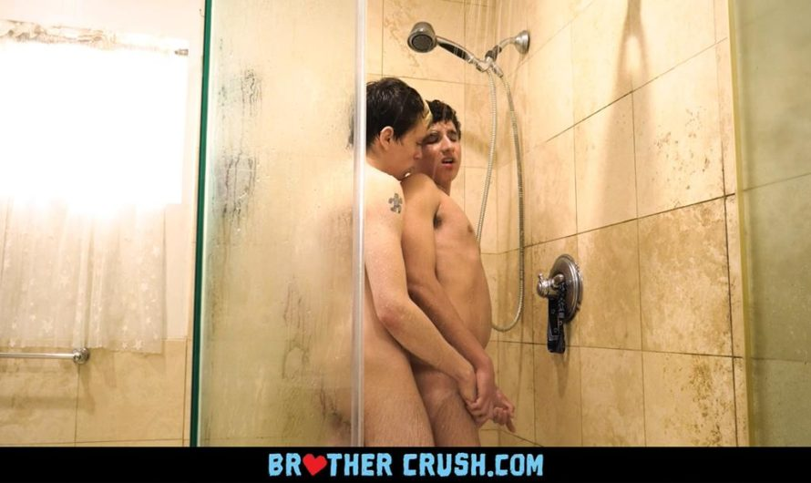 BrotherCrush – The Bonds Among Brothers – Showering Together – Ted Xander, Carter Fore