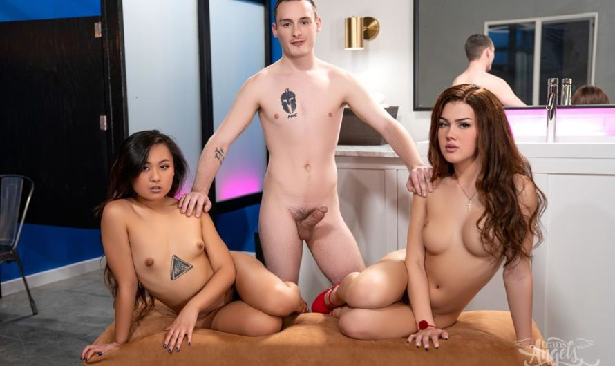 TransAngels – A Very Hot Frost Glass – Daisy Taylor, Josh Cannon, Elle Voneva