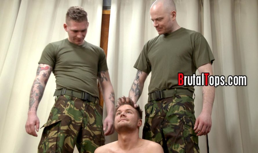 BrutalTops – Masters Aaron and Dave Order Their Sub To Sniff Their Pits