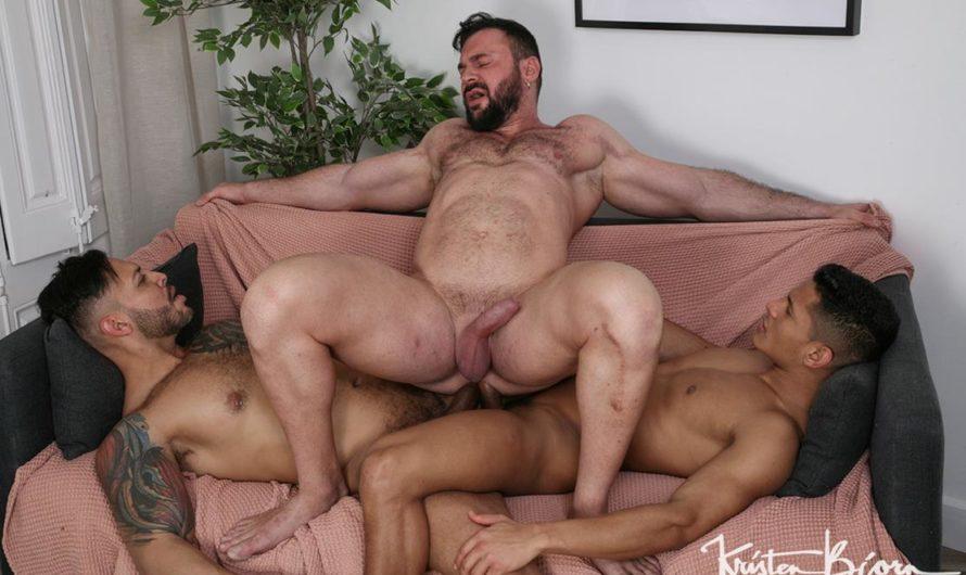 KristenBjorn – Cocked & Loaded: Cole Keller, Santiago Rodriguez, Viktor Rom