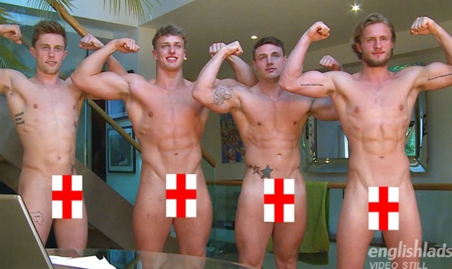 EnglishLads – Four Straight Mates Life Drawing Class – Aaron Janes, Tyler Hirst, Cameron Donald, Wesley Seaton