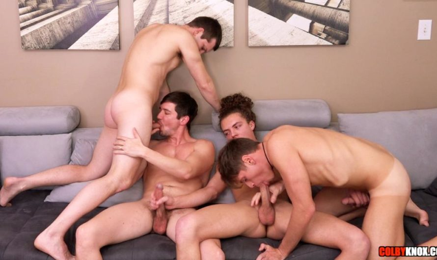 ColbyKnox – Live Four-Way – Mickey Knox, Colby Chambers, Troy Accola, Jack Valor