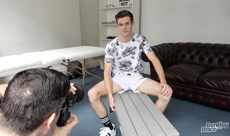 BentleyRace – Brad Hunter showing off his thick dick