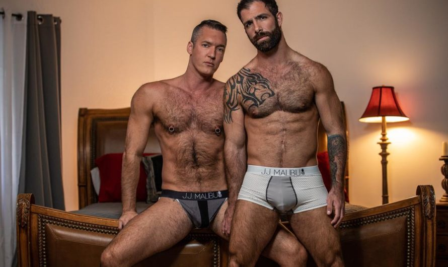 IconMale – Keep It Hairy – Jake Nicola, Silver Steele