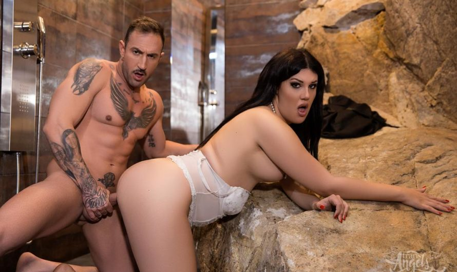 TransAngels – Heaven-Sent Hottie – Monica Conti & Emilio The Machine
