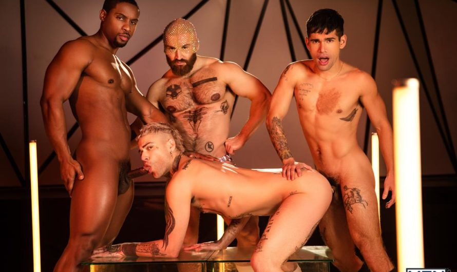 MEN.com – Tom Of Finland: Future Erotica – Francois Sagat, Deangelo Jackson, Ty Mitchell, Mickey Taylor, Jason Ebeyer