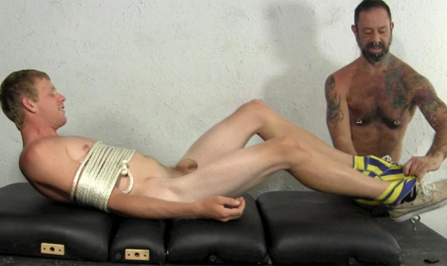 TickledHard – Super Ticklish Jason Jones