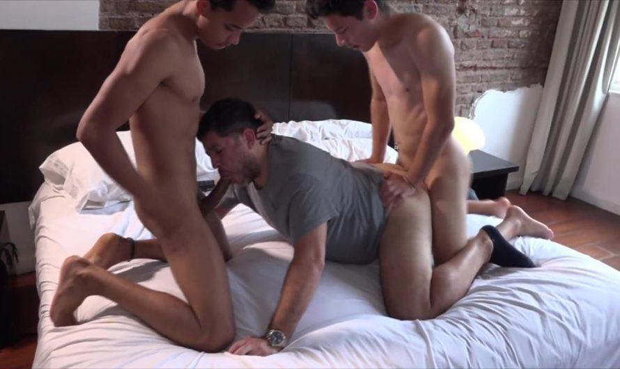 BarebackMeDaddy – Aiden, Giorgio, Ferdinand and Camera Boy
