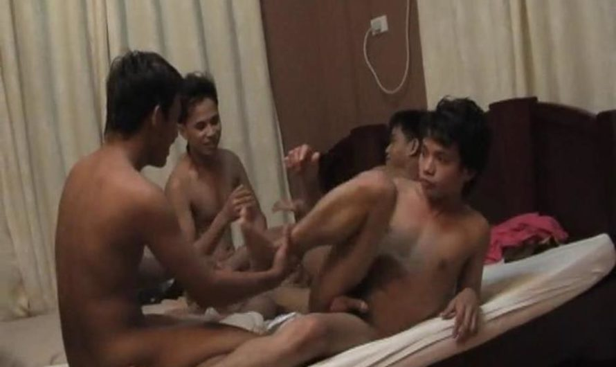 GayAsianTwinkz – Benjie, Marky, Dylan and Gil – Part 2