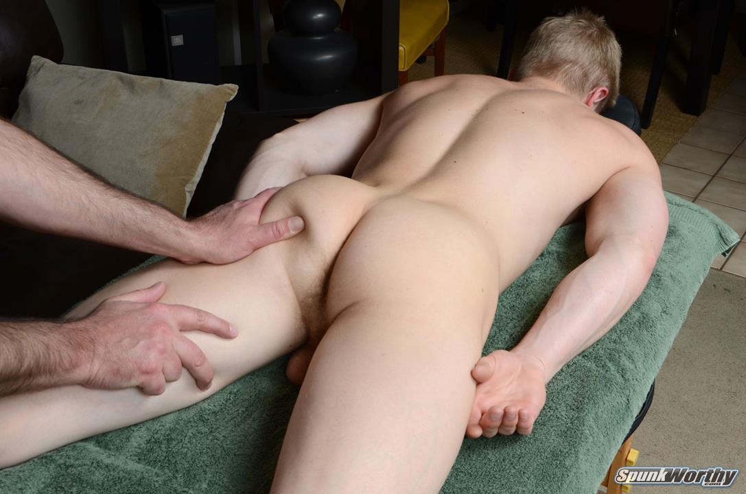 SpunkWorthy - Jon's massage SpunkWorthy
