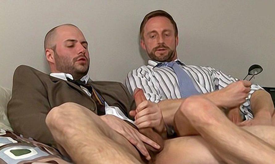 DaddySexFiles – Mutual Bating Business Buddies – Sven Norse, David Chase