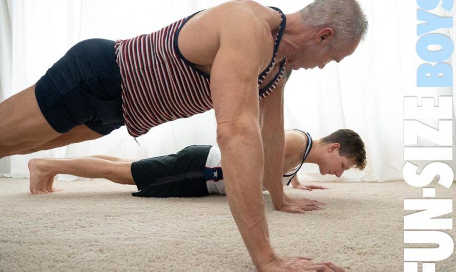 FunSizeBoys.com – Workout – Lukas Stone, Dallas Steele