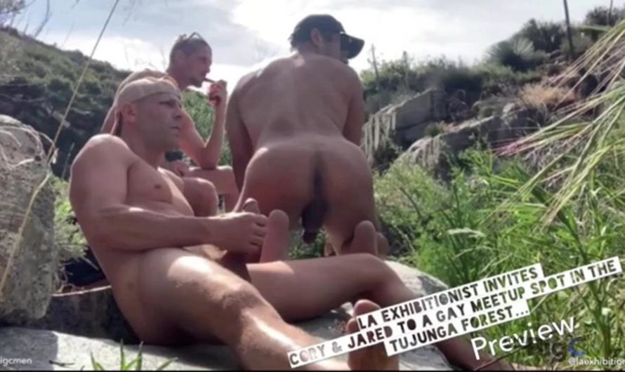 TheBigCMen – LA Exhibitionist Invites Cory & Jared To A Gay Meet Up Spot In The Tujunga Forest