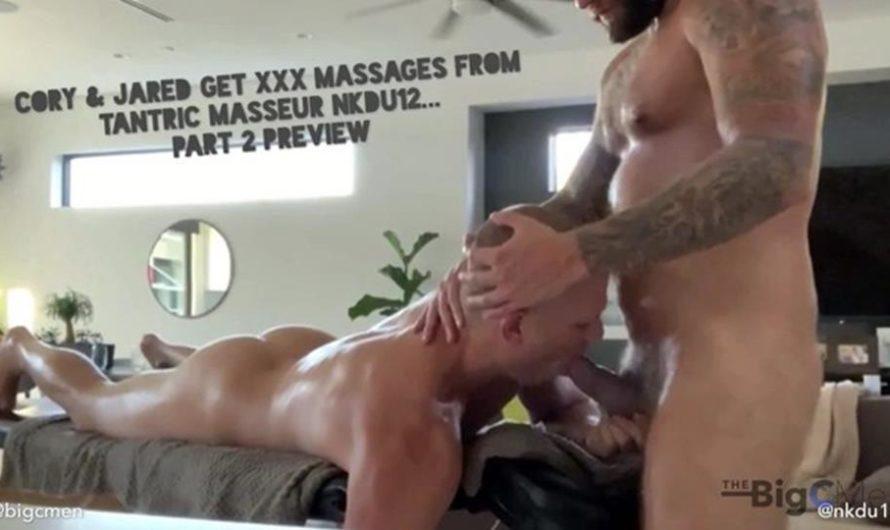 TheBigCMen – Cory & Jared Get XXX Massages From Tantra Masseur NKDU12 Part 2