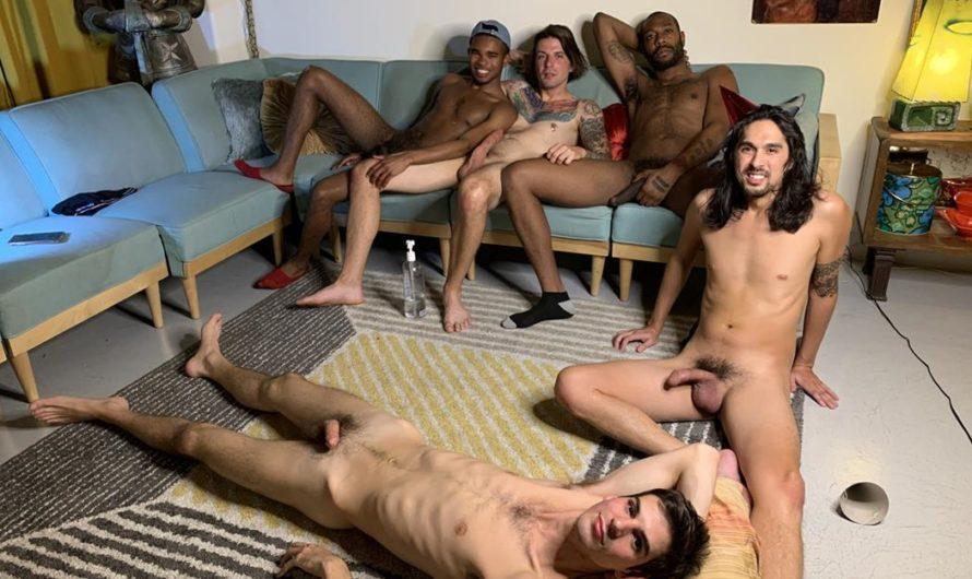 RealMenFuck – Birthday Orgy Part 2
