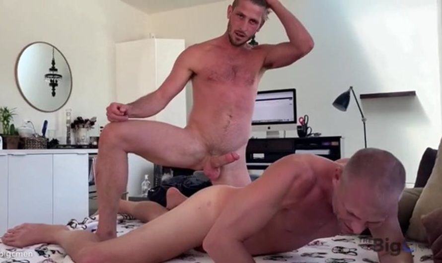 TheBigCMen – Cory & Jared's New BF Films Jared Gettin A Quick Afternoon Breed