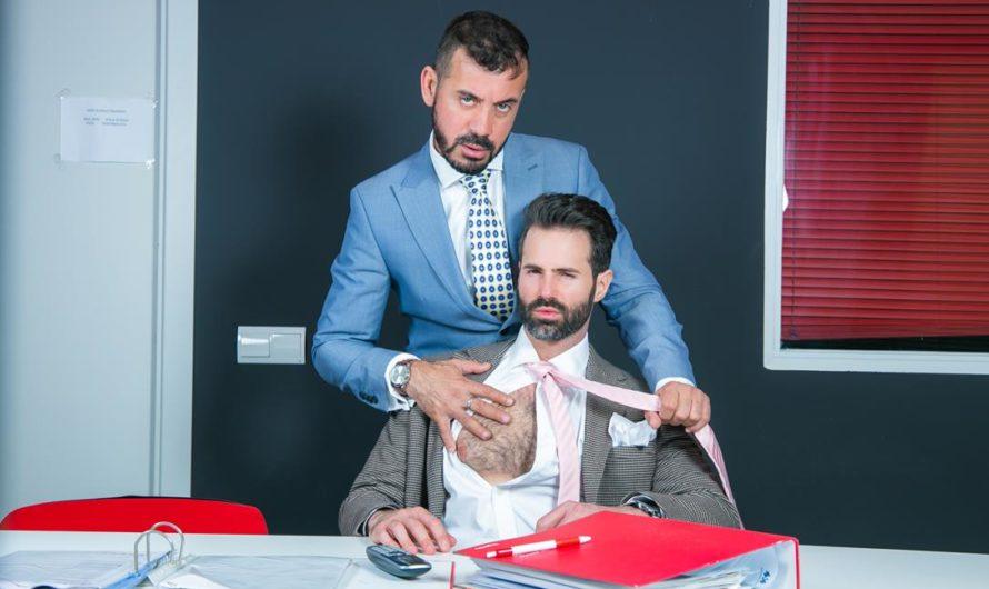 MenAtPlay – Office Voyeur – Dani Robles, Thomas Thunder