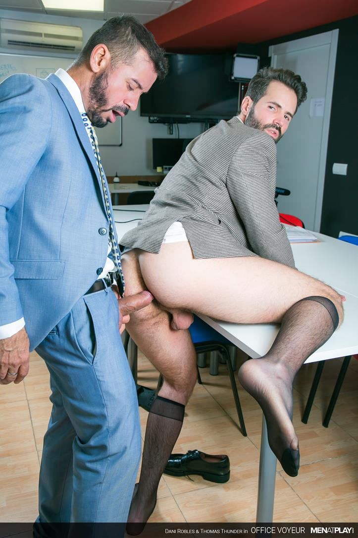 Office Voyeur - Dani Robles and Thomas Thunder Cover