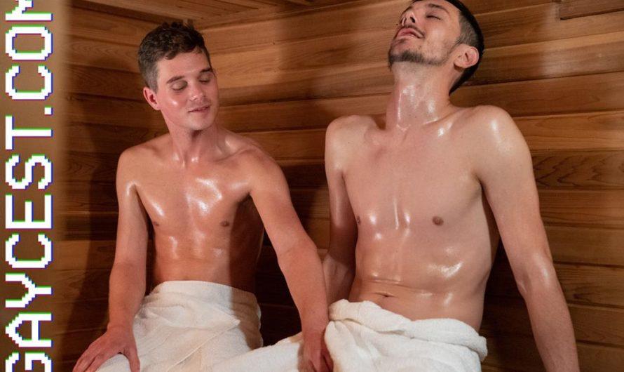 GayCest – Mr. Divino & His Nephew Mark – Sauna Play – Anthony Divino, Mark Winters