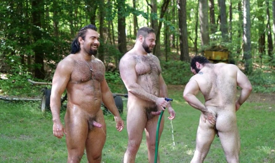 TheGuySite – Behind the Scenes Fucking Muscle Bears