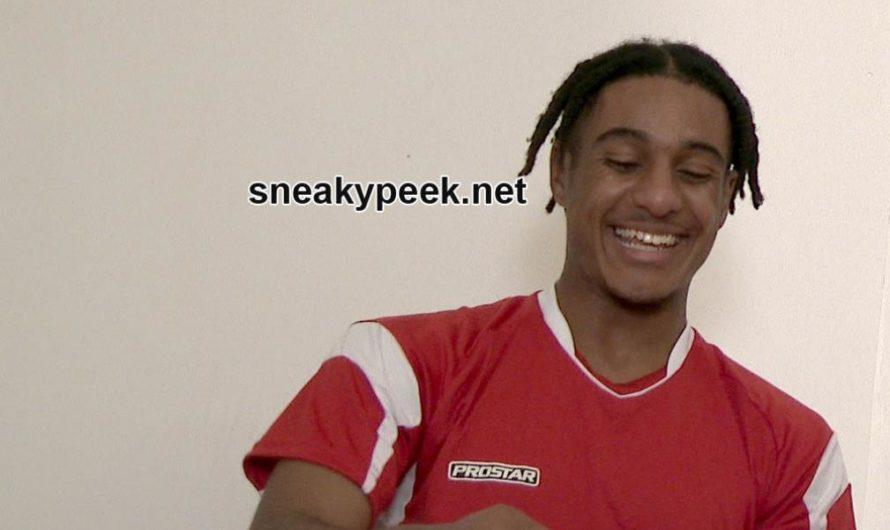 SneakyPeek – Soccer Guy Changing