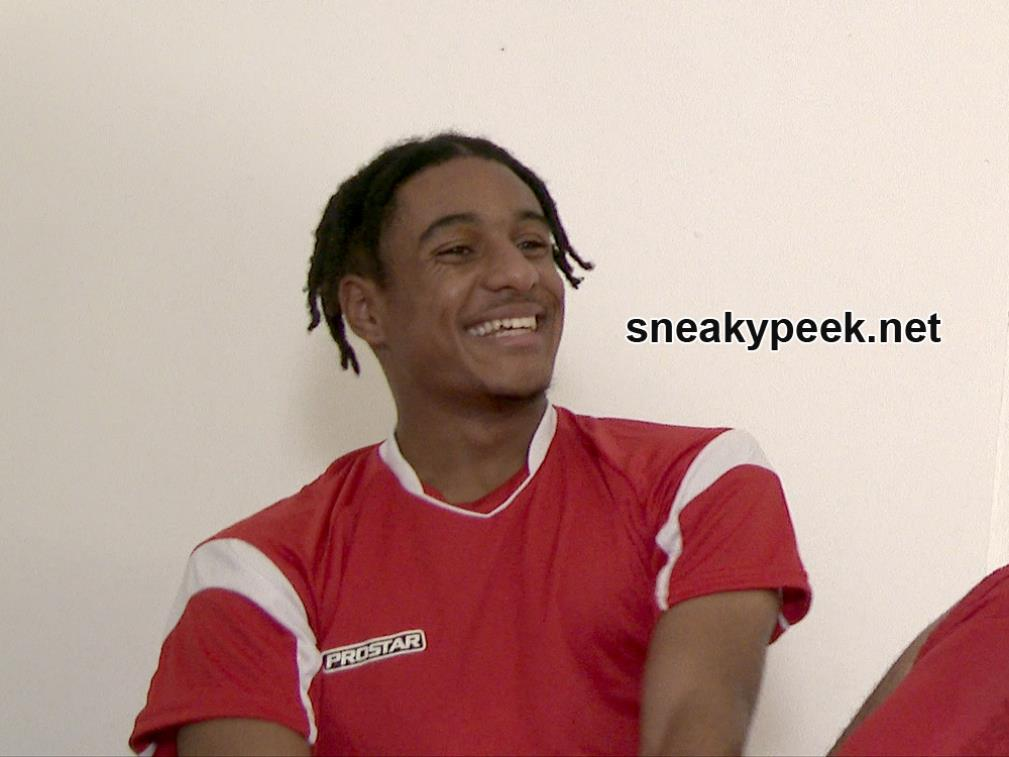 SneakyPeek - Soccer Guy Changing SneakyPeek