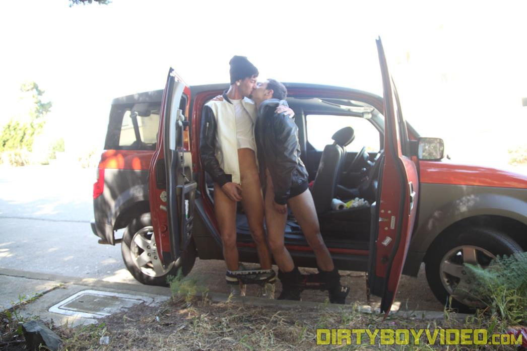 DirtyBoyVideo - Park and Blow! - Bray Love, Haze Weiler DirtyBoyVideo