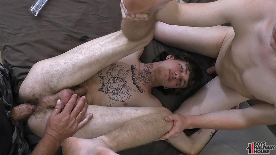 BoysHalfwayHouse - Two Chums, Two Bums - Cort Cameron, Gustov BoysHalfwayHouse
