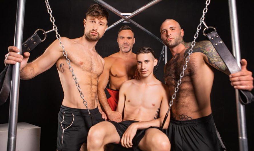 Masqulin – Daddy Sitter Part 3 – Drew Dixon, Jake Nobello, Manuel Skye, Markus Kage