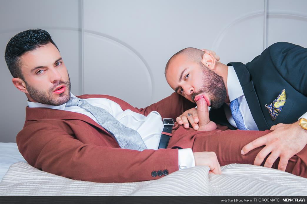 MenAtPlay - The Roommate - Andy Star, Bruno Max MenAtPlay