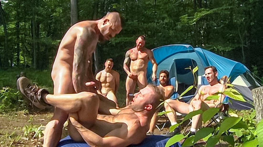 DaddySexFiles - Campsite Cock Hungry Orgy - Part 2 - Rocco Steele, Brenner Bolton DaddySexFiles