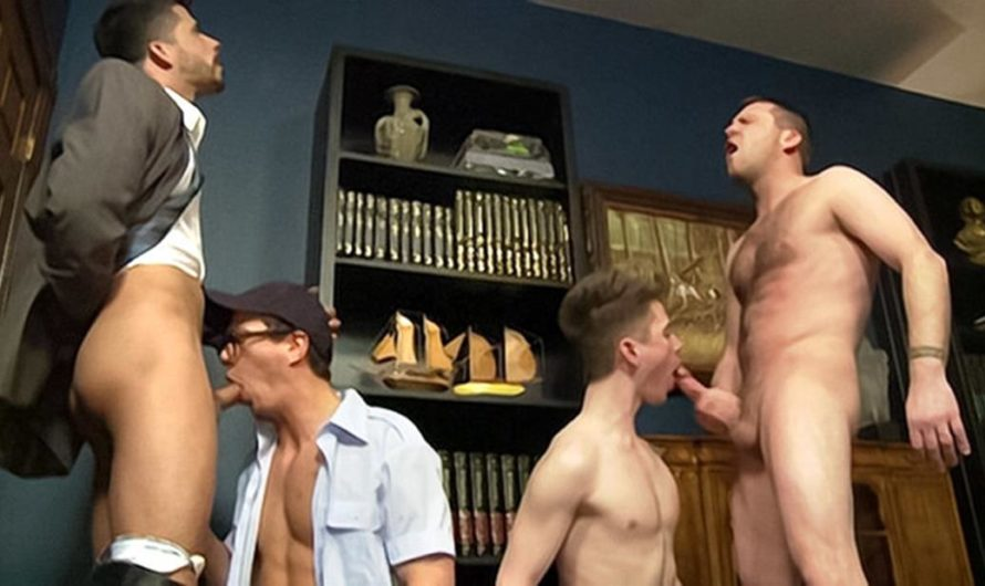 DaddySexFiles – An Orgy In The Deans Office – Kyler Ash, Ray Han