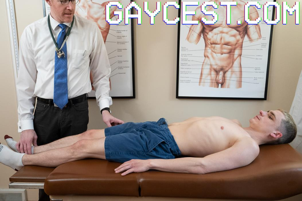 GayCest - Mr. Angus & His Boy Marcus - Father Son Checkup GayCest
