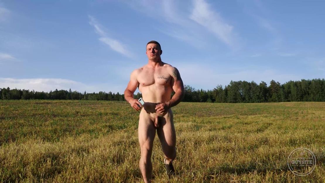 TheGuySite - Naked Russian Stud TheGuySite