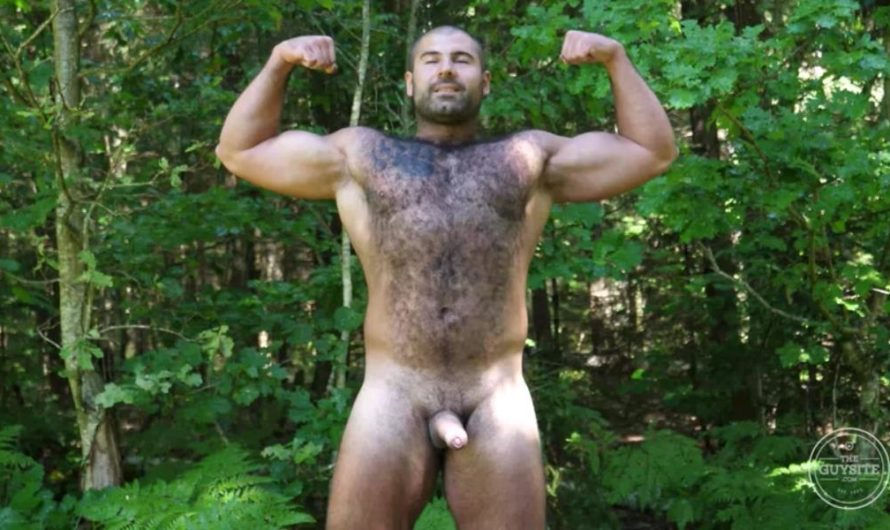 TheGuySite – Naked Russian Bear Andrei in the Woods
