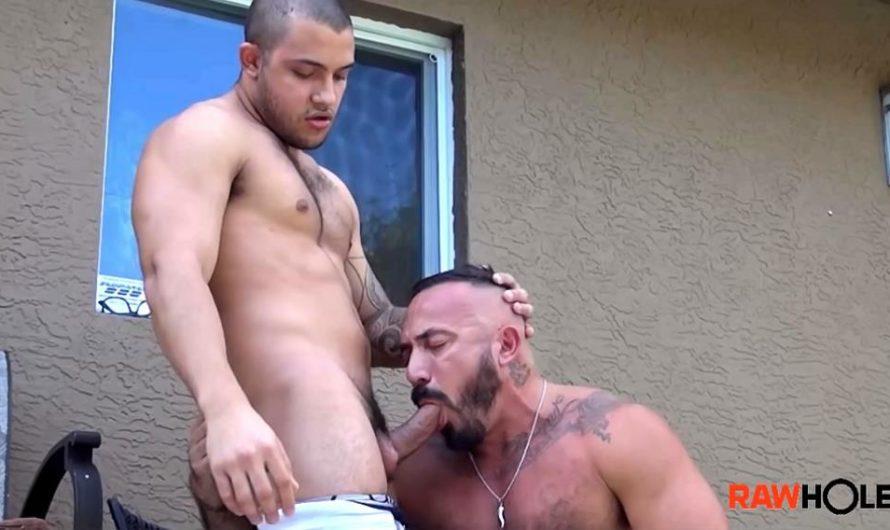 RawHole – Breeding Alessio's Cumhole – Mario Cruz, Alessio Romero