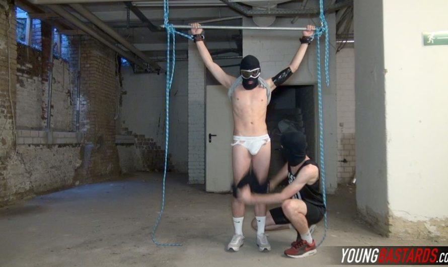 YoungBastards – Draining The Bound Boys Big Dick – RobemXXX, Bound Boy