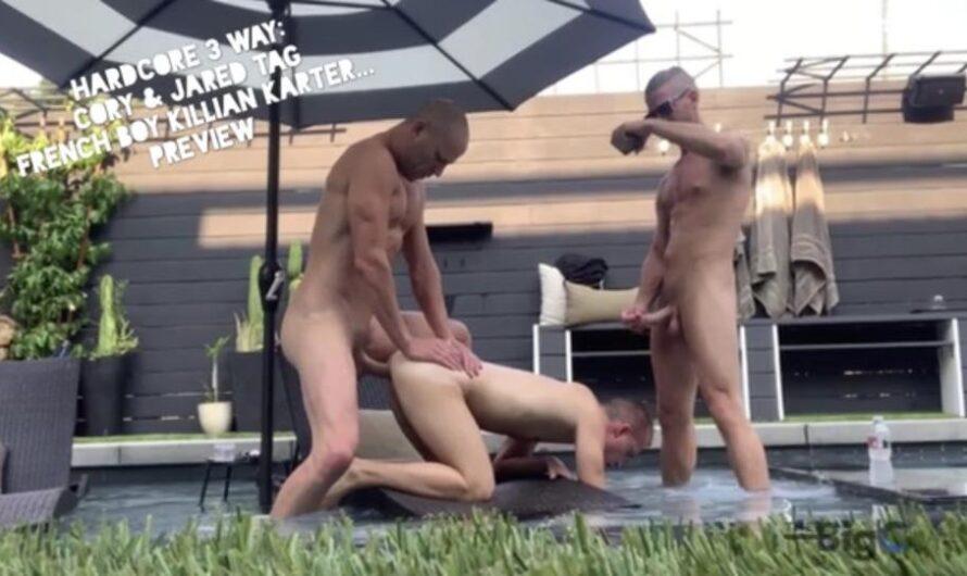 TheBigCMen – Hardcore 3 Way: Cory & Jared Tag French Boy Killian Karter