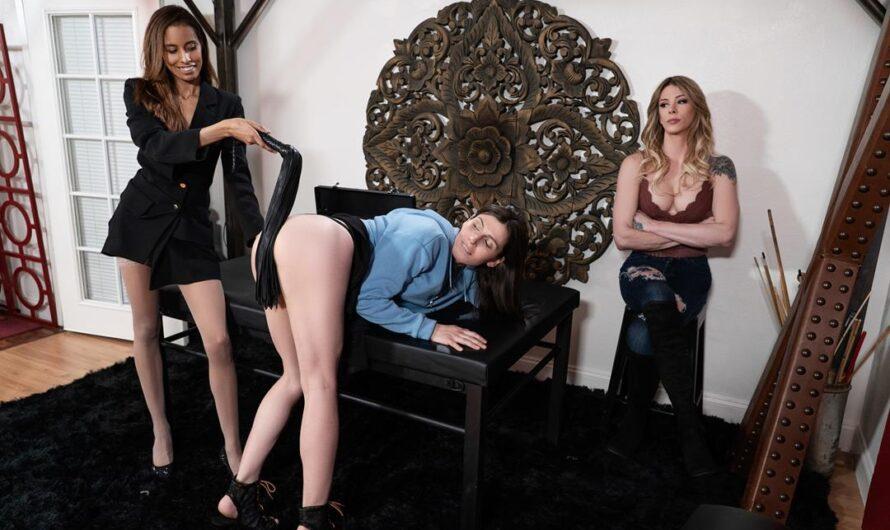 TransAngels – Cuckhold my Dildo for Me – Casey Kisses, Korra Del Rio, Kylie Le Beau