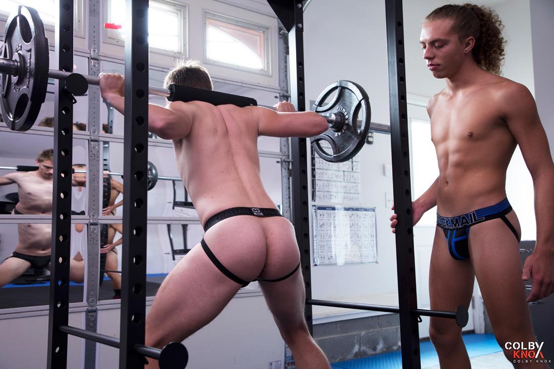 ColbyKnox - Jack and Mason Fuck In The Gym - Jack Valor, Mason Dean ColbyKnox
