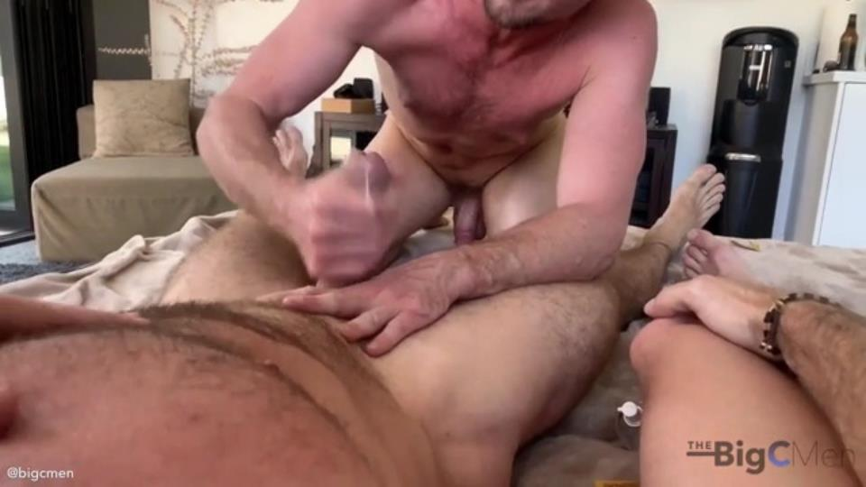 TheBigCMen - Hot Afternoon 3 Way Fuck: A Very DL Masc Amateur Bud Tops Jared & Bottoms For Cory TheBigCMen