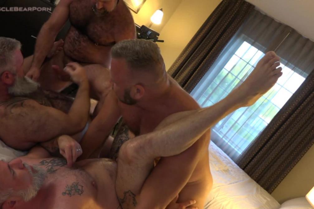 MuscleBearPorn - Husband Swap - Liam Angell, Will Angell, Thor Buckner, Tigerpouncer MuscleBearPorn