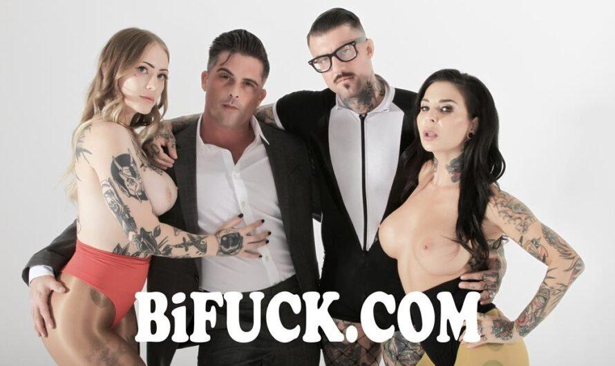 BiFuck – Quantum Bisexual Leap: Office Work – Lance Hart, Joanna Angel, BabySid, H3ll4SL00tz